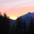Sunset at Whistler