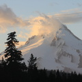 Mt Hood with Clouds
