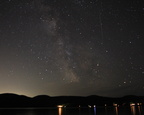 Milky Way Over Whitefish Lake